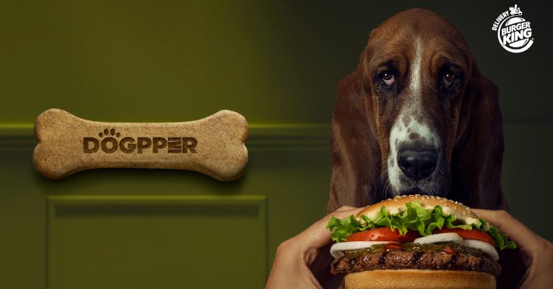 hueso para perros burger king