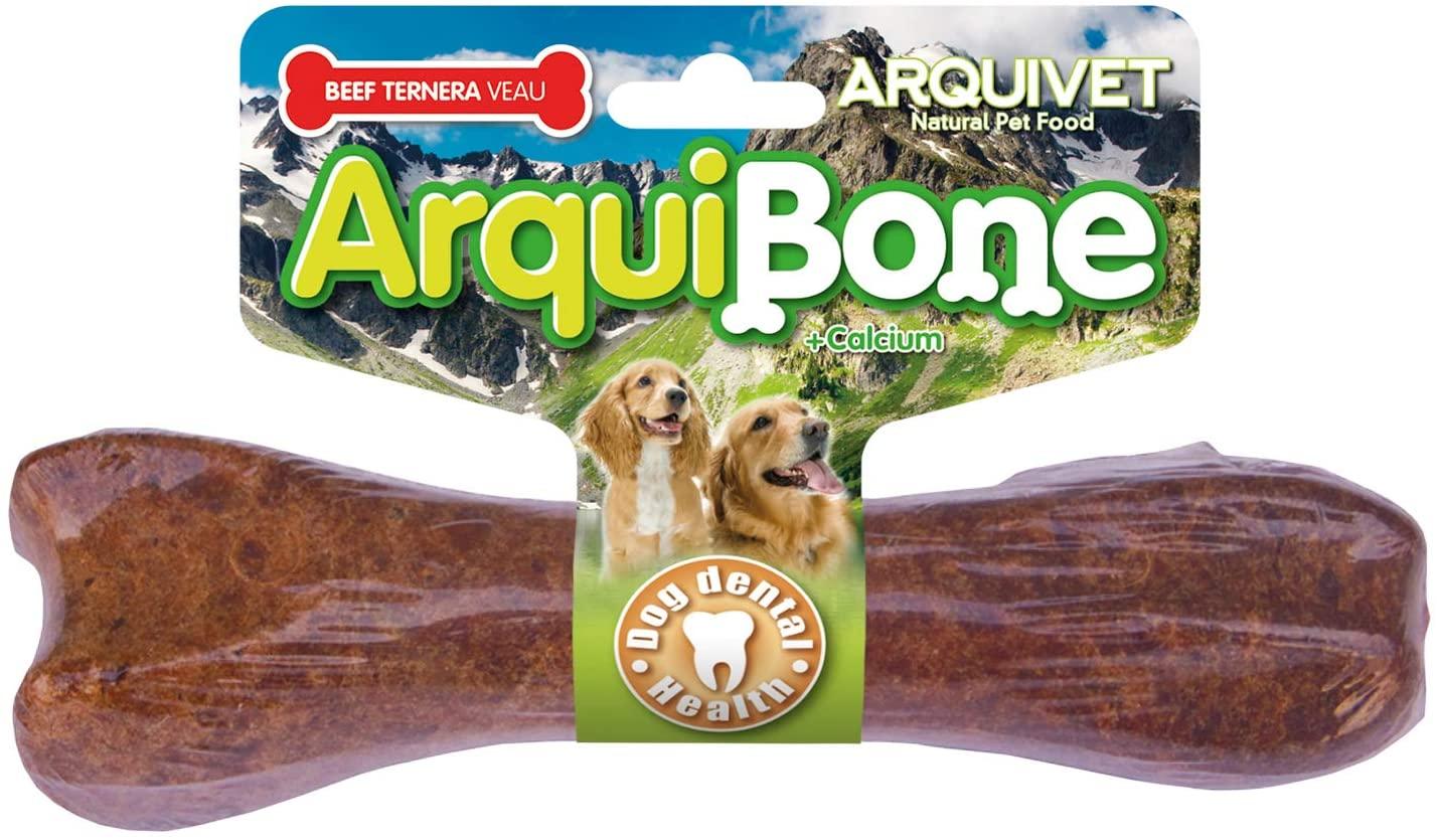 hueso con buey perros